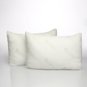 Panama Jack Infused Jumbo Twin Polyfill Standard Pillow by Pegasus Home Fashions