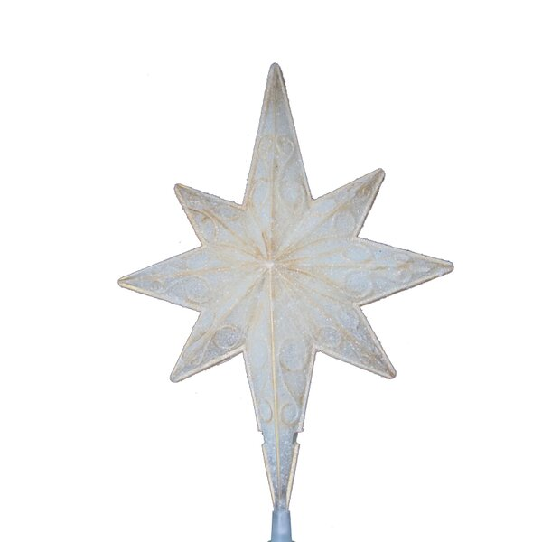 Sienna Lighted Christmas Star of Bethlehem Tree Topper with ...