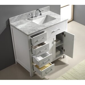 Modern Bathroom Vanities Cabinets AllModern - Bathroom vanity tops 43 x 22 for bathroom decor ideas