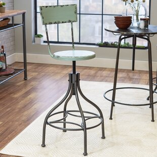 Etonnant Leadville Adjustable Height Swivel Bar Stool