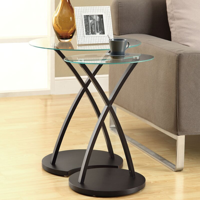 Beautiful 2 Piece Nesting Tables
