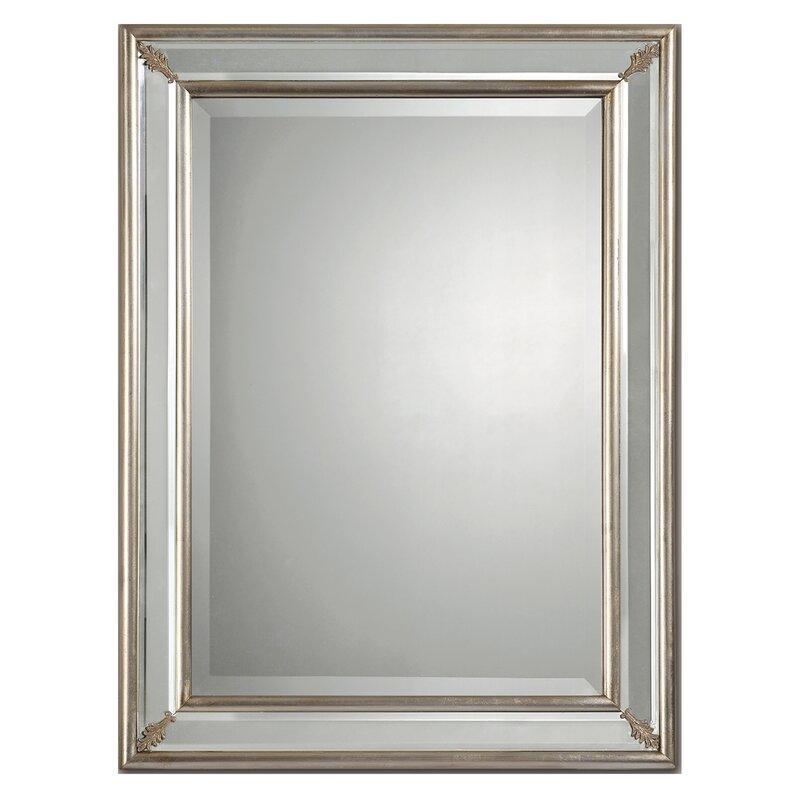Beveled Wall Mirror ren-wil beveled wall mirror & reviews | wayfair
