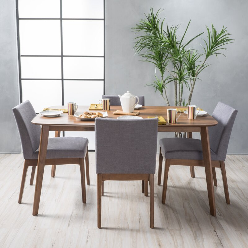 5 Piece Dining Sets langley street tunis 5 piece dining set & reviews | wayfair