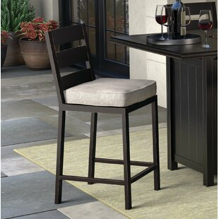 Beringer Patio Bar Stool With Cushion (Set Of 2)