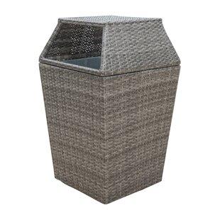 Graphite Trash Can