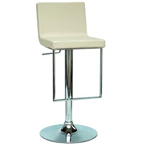 Adjustable Height Swivel Bar Stool by Chintaly Imports
