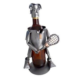 Tennis Male 1 Bottle Tabletop Wine Rack