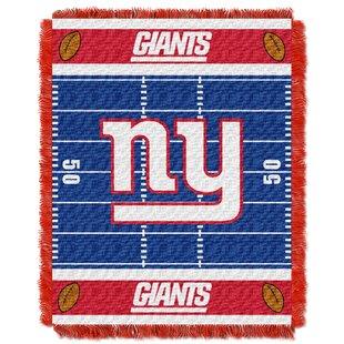 NFL NY Giants Field Baby Blanket