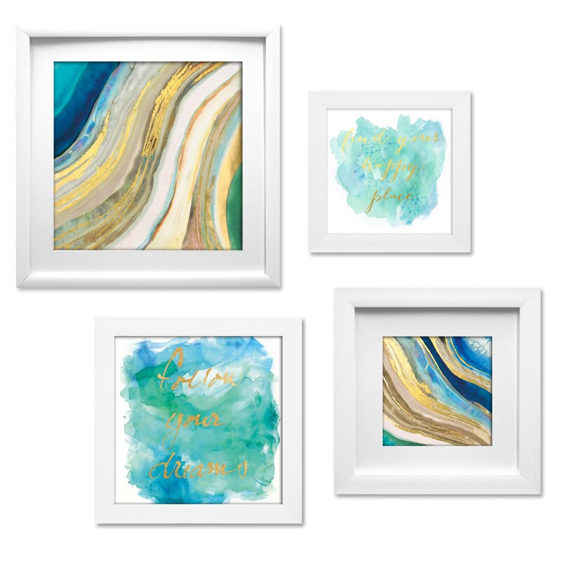 4 Piece Wall Art Sets You\'ll Love | Wayfair