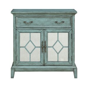 Peete 1 Drawer 2 Door Cabinet