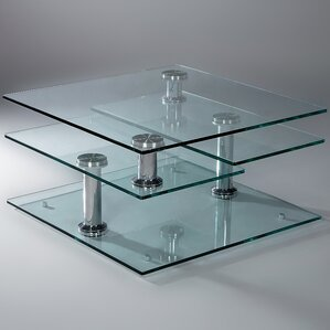 Motion Glass Coffee Table by C..
