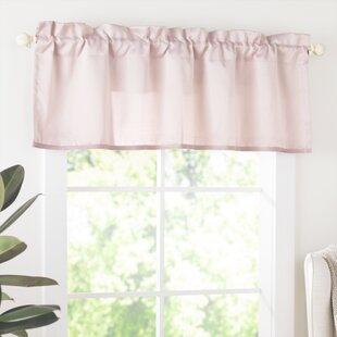 Bedroom Window Valances Pink | Wayfair