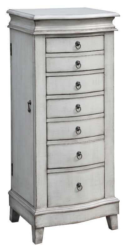 Darby Home Co Brookside Free Standing Jewelry Armoire Reviews