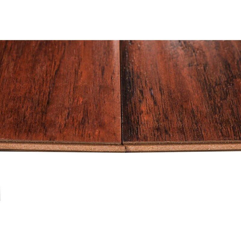 Kolten 7 X 48 12mm Hickory Laminate Flooring In Nirwana Red