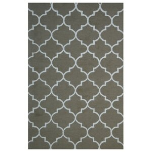 Wool Hand-Tufted Gray Area Rug