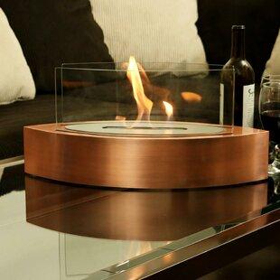 Sloan Ventless Tabletop Bio Ethanol Tabletop Fireplace