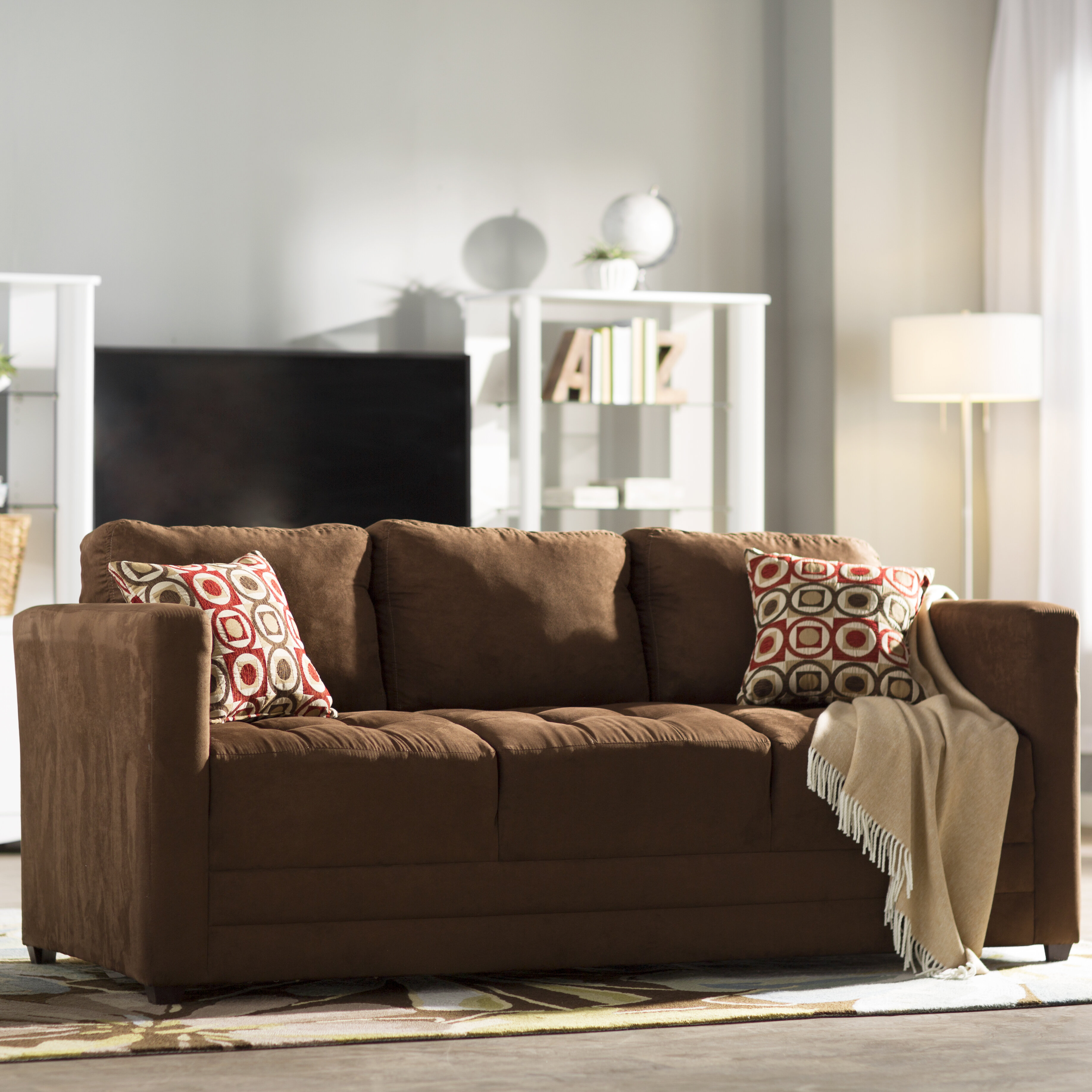 loveseat wood and stationary apron serta sofa macy my chestnut products by upholstery couch group