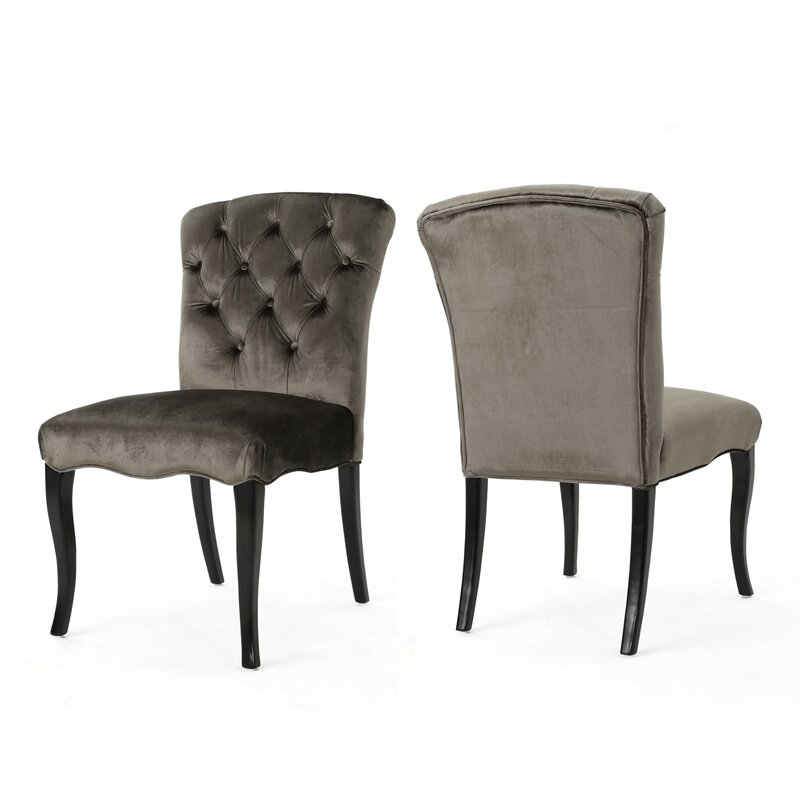Attrayant Binning Armless Upholstered Dining Chair