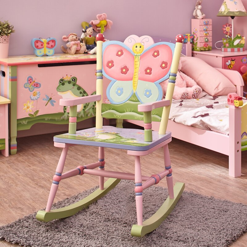 Magic Garden Kids Rocking Chair