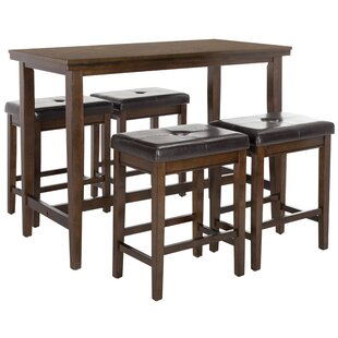 Vandermark 5 Piece Pub Table Set