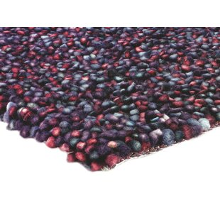 Glouscester Hand-Woven Plum Area Rug by Metro Lane