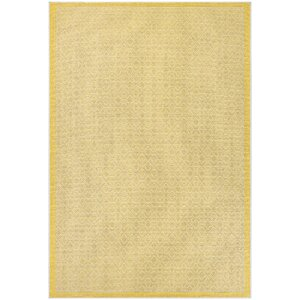 Shackelford Yellow Indoor/Outdoor Area Rug