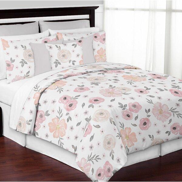 Watercolor floral comforter wayfair mightylinksfo