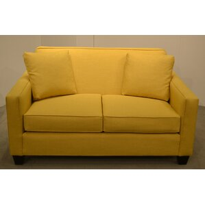 Two Cushion Loveseat by Carolina Classic Furniture