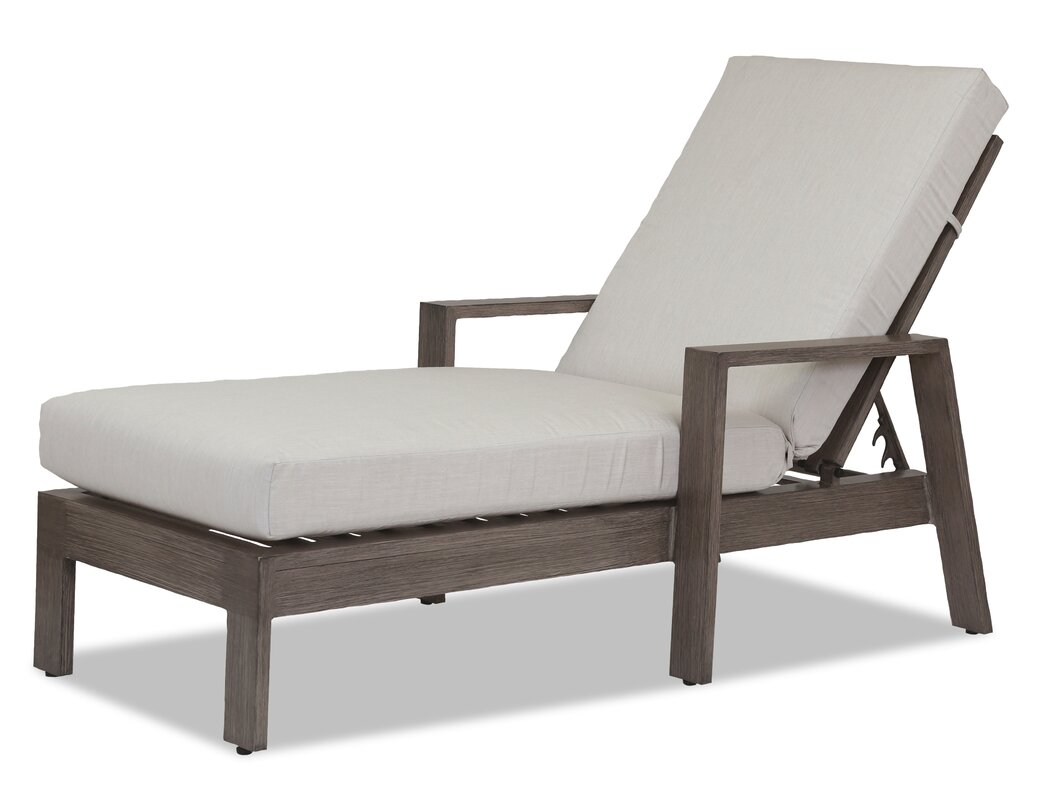 Laguna Double Chaise Lounge with Cushion  sc 1 st  Wayfair : double chaise cushion - Sectionals, Sofas & Couches