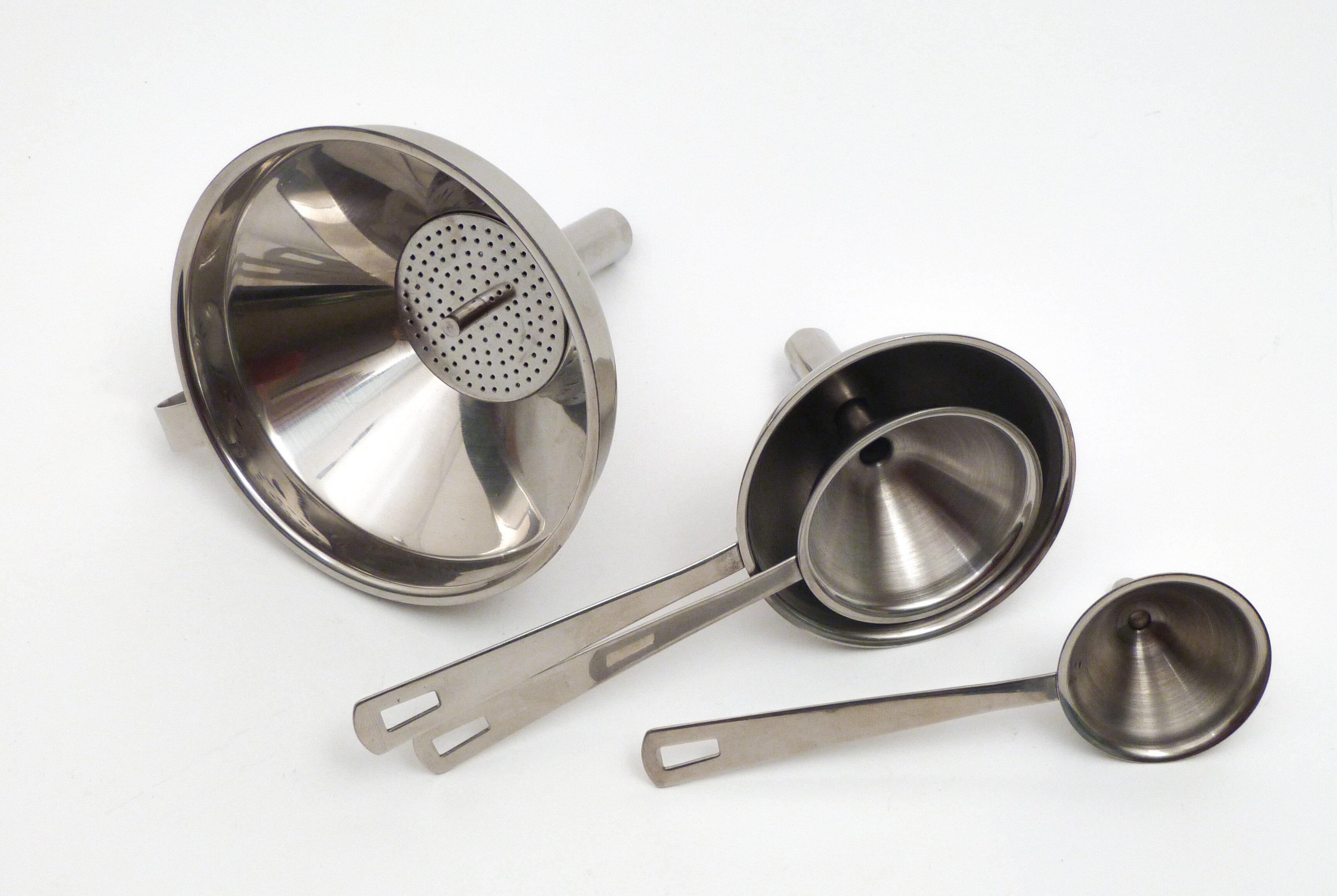 RSVP-INTL Endurance® 4-Piece Stainless Steel Funnel Set & Reviews ...