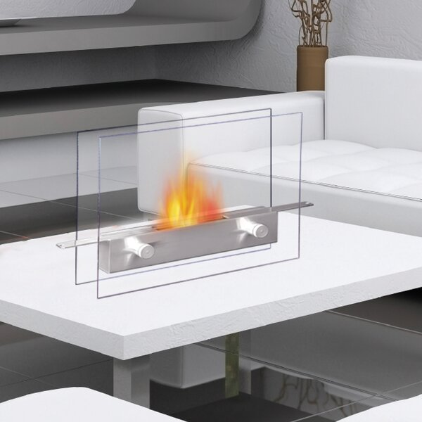 anywhere fireplace metropolitan bio ethanol tabletop fireplace rh wayfair com table top fireplace canada decorative table top fire place