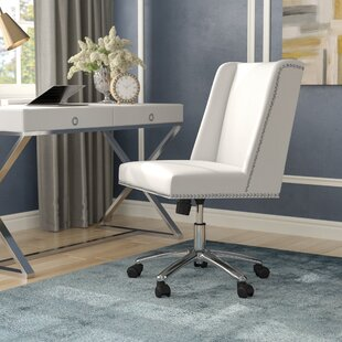 gray office desk pinterest rozar highback desk chair fabric office chairs youll love wayfair