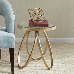 Mistana Dolson Round End Table