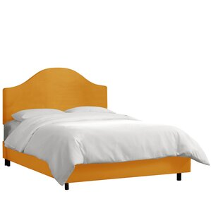 Bloomfield Upholstered Panel Bed by Alcott Hill