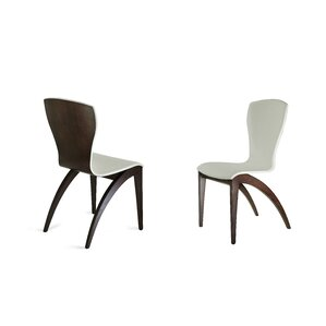 Sinfonia Side Chair in Eco Leather - Dark Grey by YumanMod