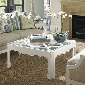 Ivory Key Coffee Table by Tommy Bahama Home