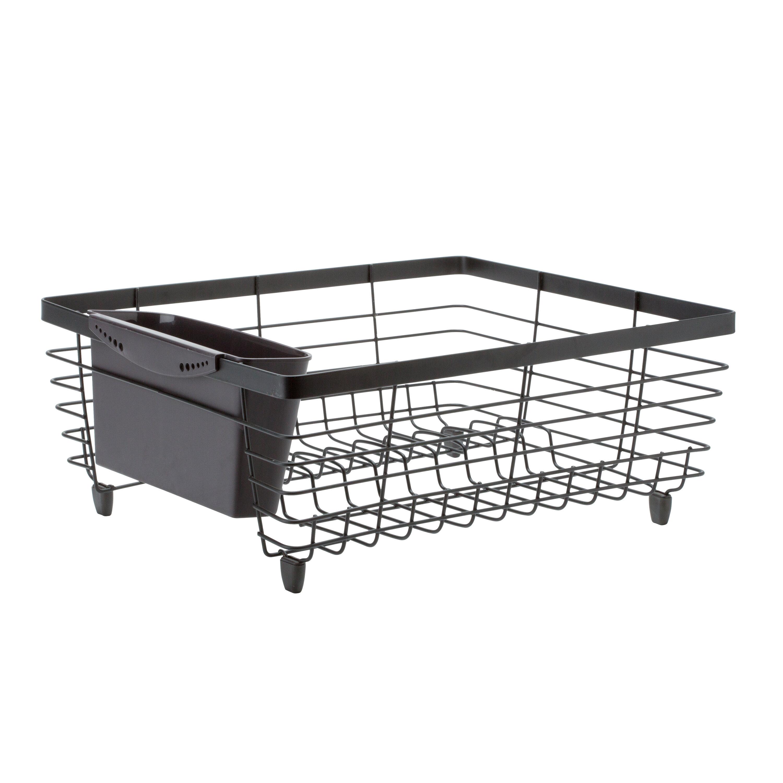 Bath Bliss Kitchen Details Flat Wire Dish Rack & Reviews | Wayfair