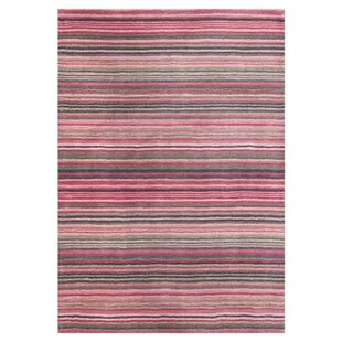 Carter Hand Tufted Wool Pink Rug by Longweave