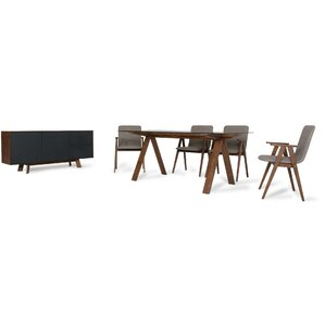 Tuel 8 Piece Dining Set by Brayden Studio