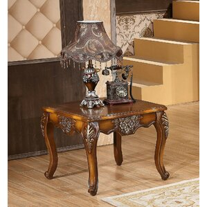 Larina End Table by Astoria Grand
