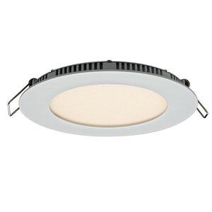 Round Panel LED Recessed Trim