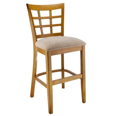 Harner 24 Bar Stool August Grove Color: Natural