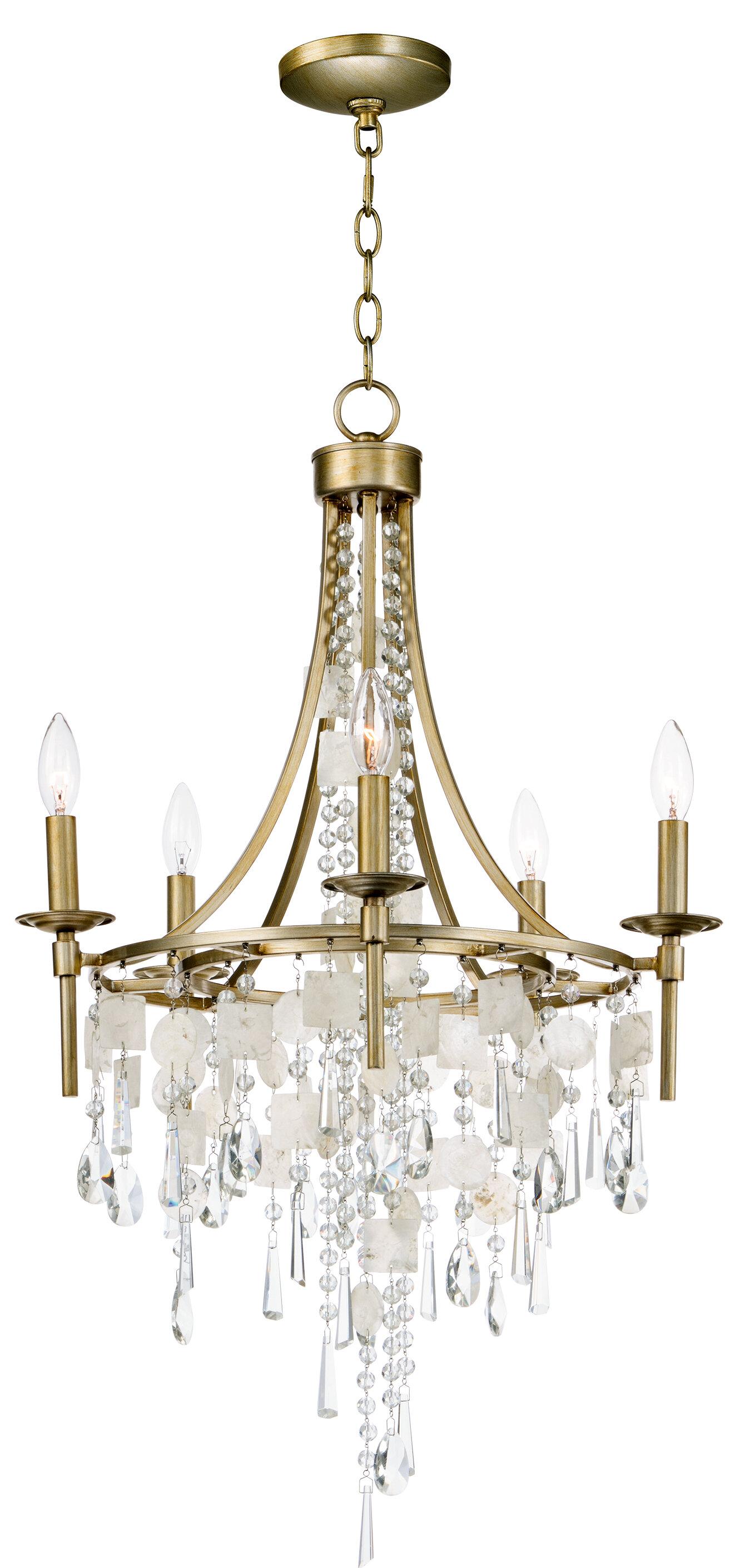 Bungalow rose pinheiro 5 light chandelier wayfair