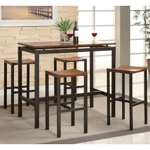 Kitchen Pub Table Pub tables bistro sets youll love wayfair swigart 5 piece pub table set workwithnaturefo
