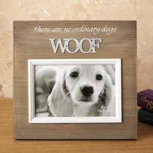 cypress wood picture frame - Dog Frame
