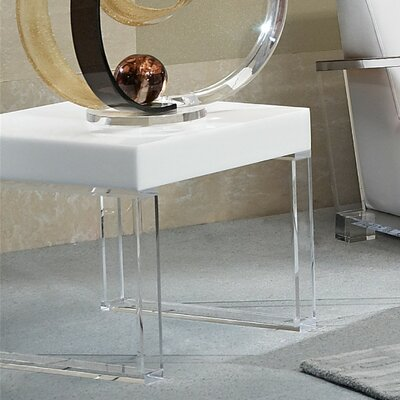 Delicieux Contempo Acrylic End Table