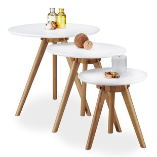 Delicieux Oak 3 Piece Nest Of Tables