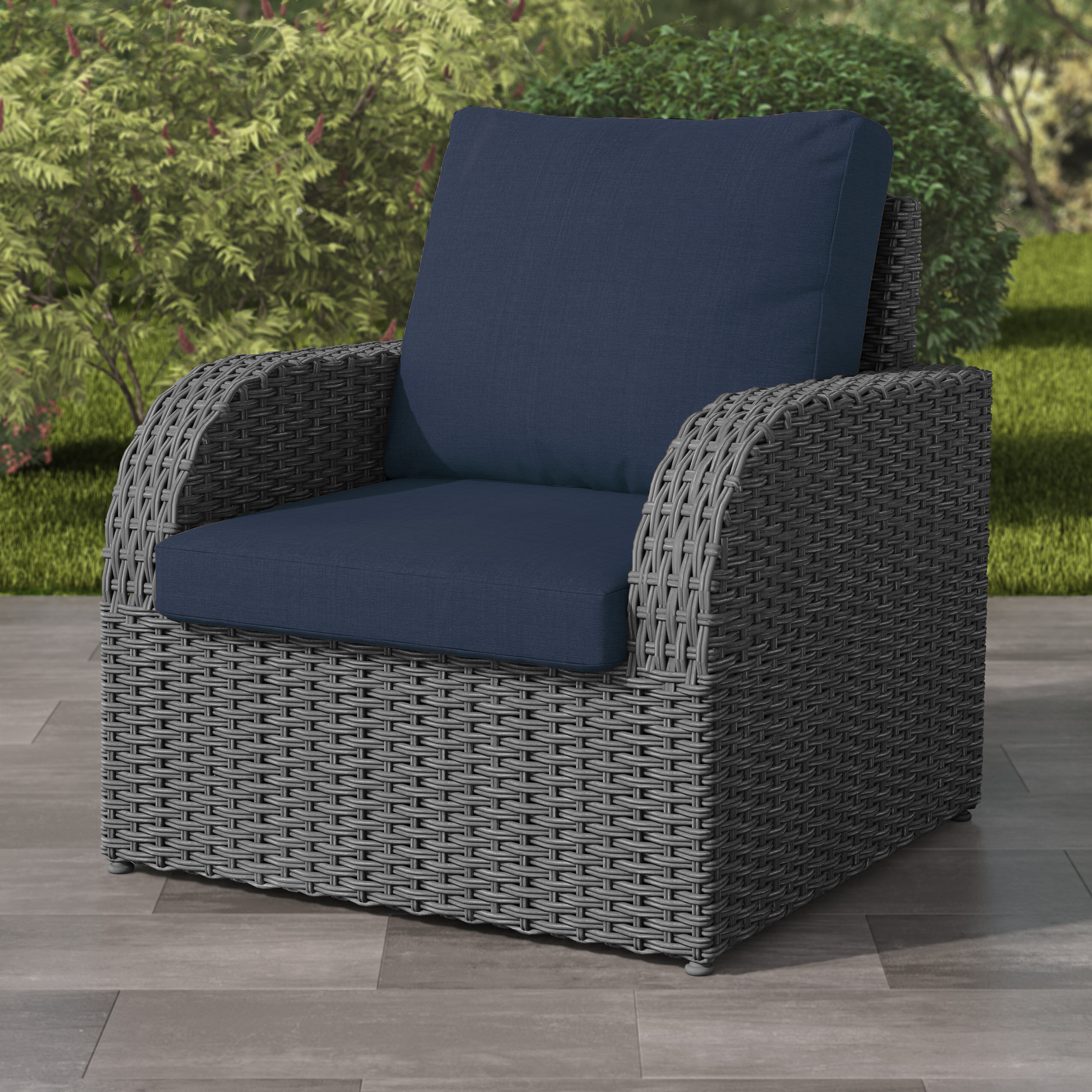 Rosecliff Heights Killingworth Weather Resistant Resin Wicker Patio