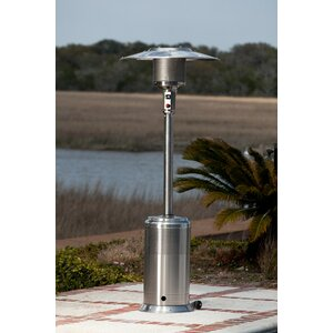 Stainless Steel Pro Series 46,000 BTU Propane Patio Heater
