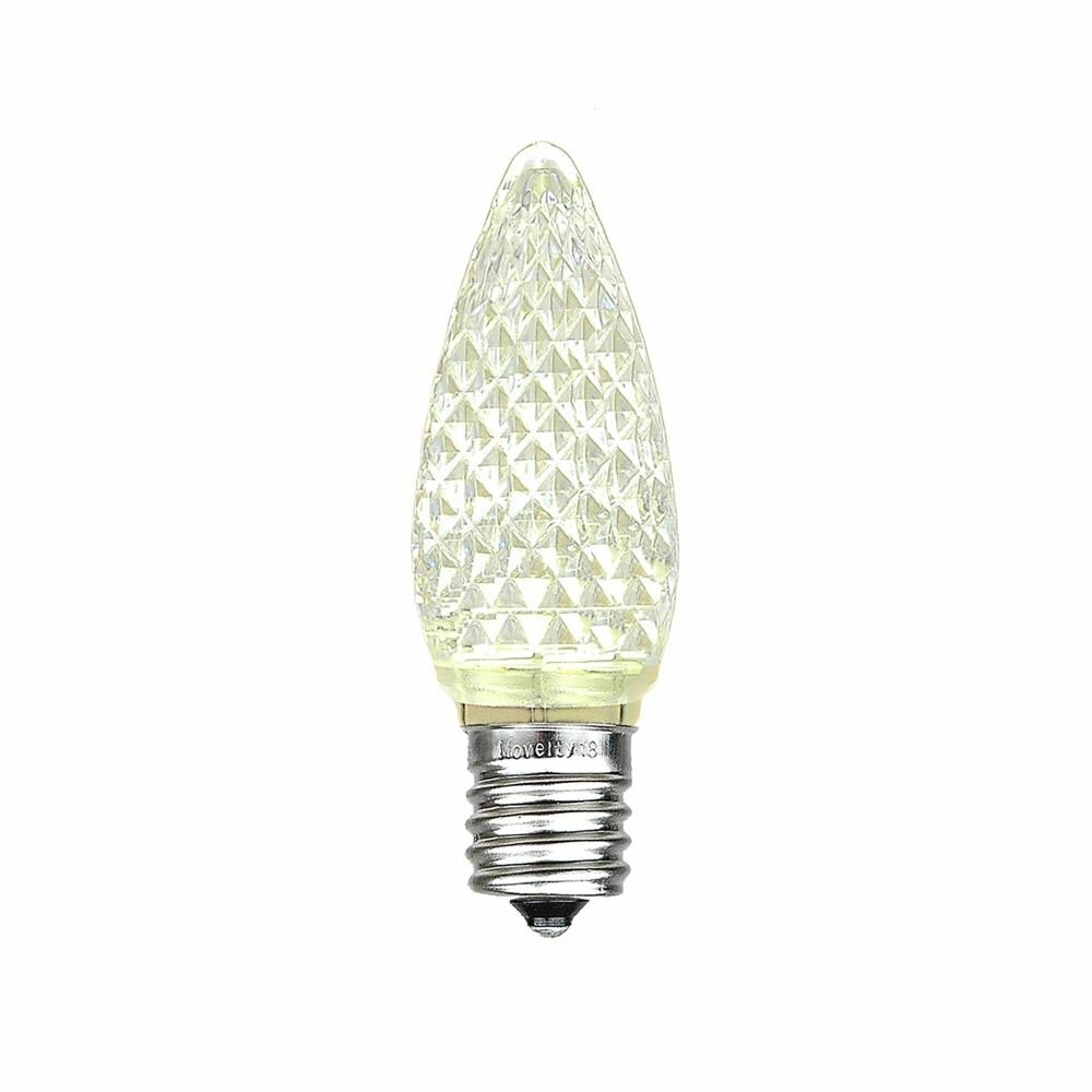 Novelty Lights 080 Watt C9 Led Dimmable Light Bulb E17